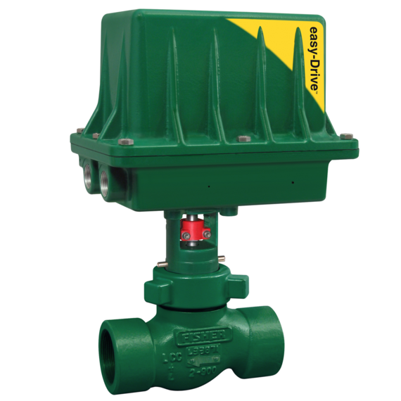 Fisher D3 control valve with easy-Drive electric actuator