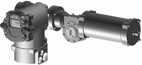 EIM RTS FQ Fail-Safe Quarter-turn Electric Valve Actuator (Rebranded)