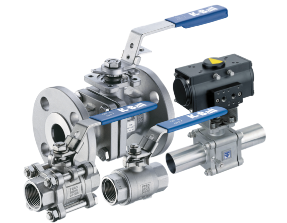 Figure R110 - F190 Ball Valve for Industrial and Process Applications