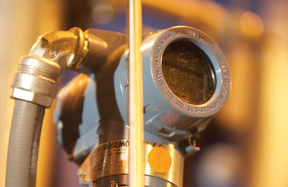 Efficient generation of steam requires accurate pressure monitoring and control over a wide range of pressures.