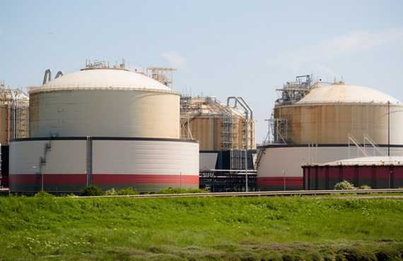 Modern storage facilities for LNG are large, complex and technically advanced structures.